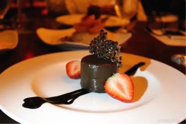 Napa Restaurant Orlando review with www.goepicurista.com, Gianduja Chocolate Cake
