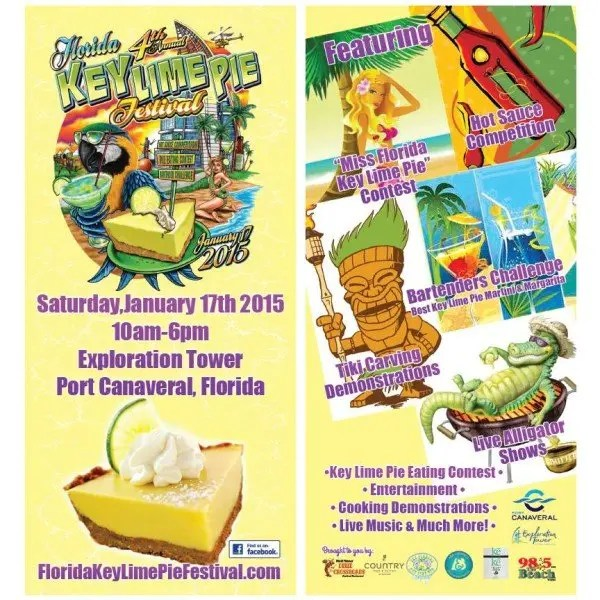 Top 9 Best Central Florida Events January 2015 with www.goepicurista.com