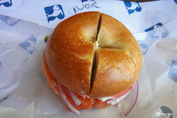 Must Eat Foods of New York and Russ and Daughters with www.GoEpicurista.com