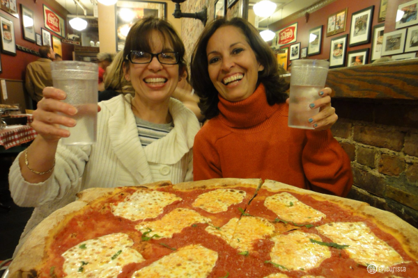 Must Eat Food of New York includes Lombardis Pizza with www.GoEpicurista.com