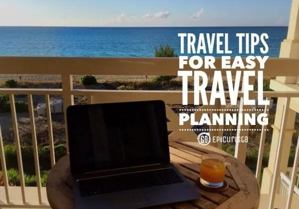 Travel Tips for Easy Travel Planning