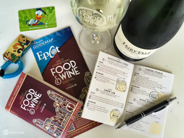 Enjoying a little bubbly from Iron Horse Vineyards Fairy Tale Cuvee and checking off my Marketplace Discovery Passport and guide.