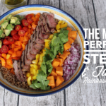 Steak and Farro Rainbow Salad for #SundaySupper