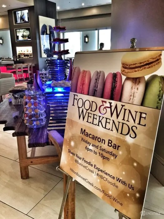 Food and Wine Weekends Waldorf Orlando Hilton Bonnet Creek with www.GoEpicurista.com