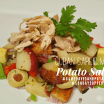 Cuban Garlic Mojo Potato Salad