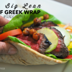 My Big Lean Beef Greek Wrap