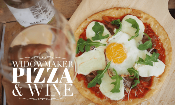 Widowmaker Pizza and Wine – Easy Entertaining on Game Night