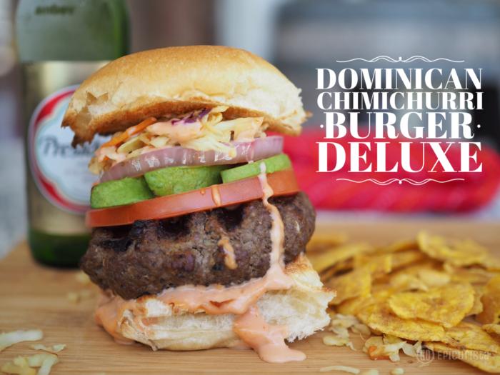 dominican chimichurri burger recipe