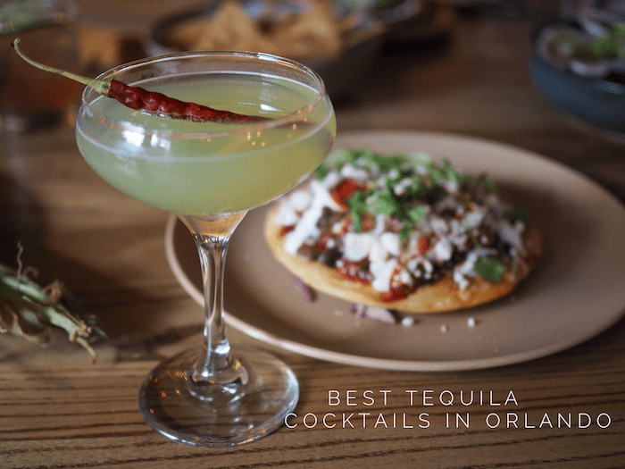 Best tequila cocktails in Orlando by GoEpicurista.com