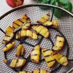 Grilled Peach Blueberry Four Cheese Summer Pizza by GoEpicurista.com paired with CK Mondavi and Family Wines
