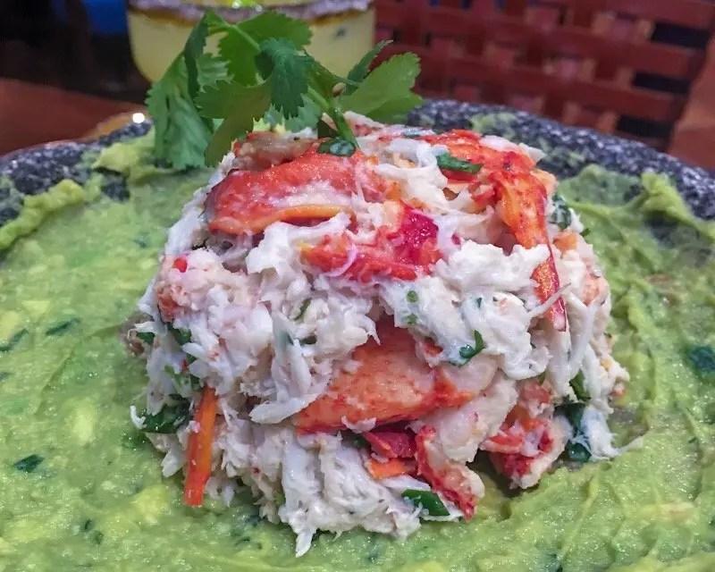9 Reasons Foodies Love Rosen Shingle Creek Resort in Orlando Jumbo Lump Crab Guacamole at Mi Casa Tequila