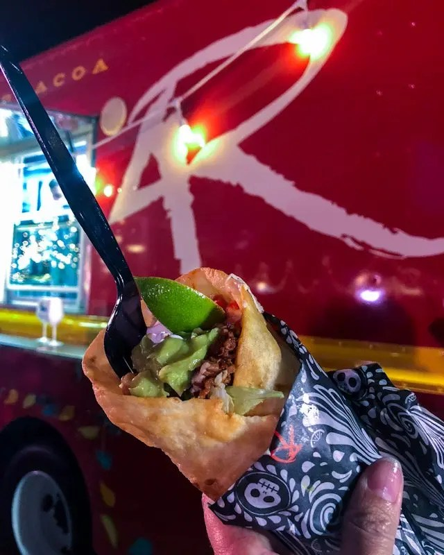 Photo recap why every Foodie Loves Cows N Cabs Event in Orlando. Including 4R Cantina
