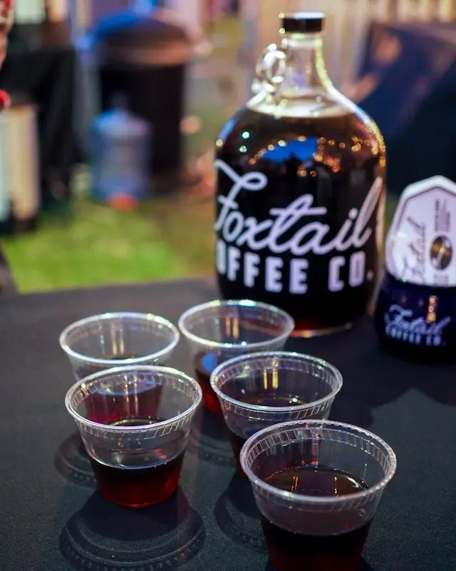 Photo recap why every Foodie Loves Cows N Cabs Event in Orlando. Including Foxtail Coffee