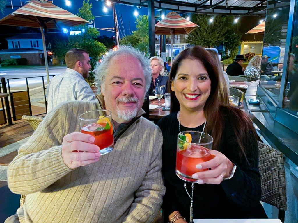 Orlando Magazine Food critic Joseph Hayes and Christina Thomas of Go Epicurista at Soco 5 Year Anniversary Dinner