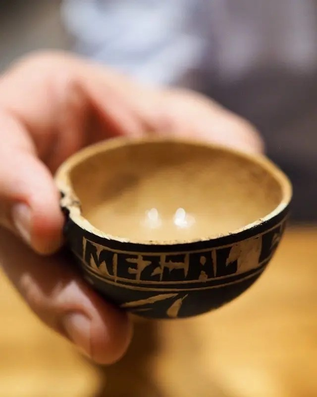 Mezcal tasting at Frontera Cocina at Disney Springs Taste of Oaxaca Seasonal Menu and Fun Random Facts about Mole including How To Make an Easy Mole from Chef Rick Bayless
