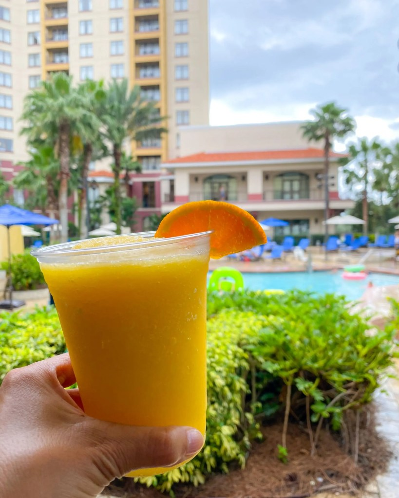 The Drinks. 29 Socially Distanced Fun Things To Do on Vacation at Wyndham Grand Orlando Resort Bonnet Creek