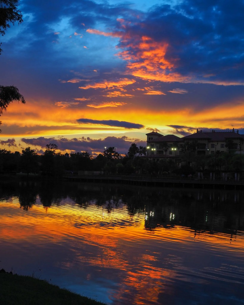 The Sunset. 29 Socially Distanced Fun Things To Do on Vacation at Wyndham Grand Orlando Resort Bonnet Creek