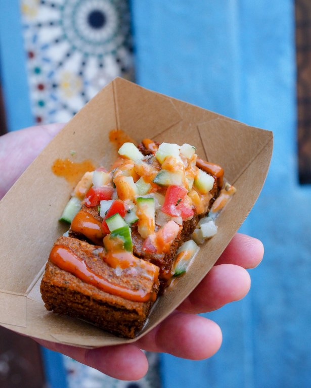 Taste of Epcot Food and Wine Festival guide Spicy hummus fries