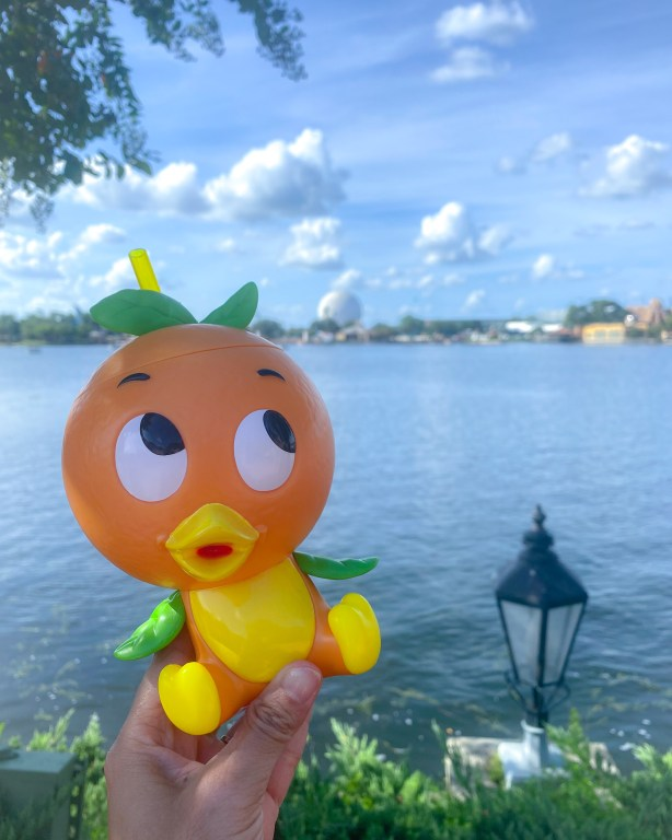 Taste of Epcot Food and Wine Festival guide orange bird
