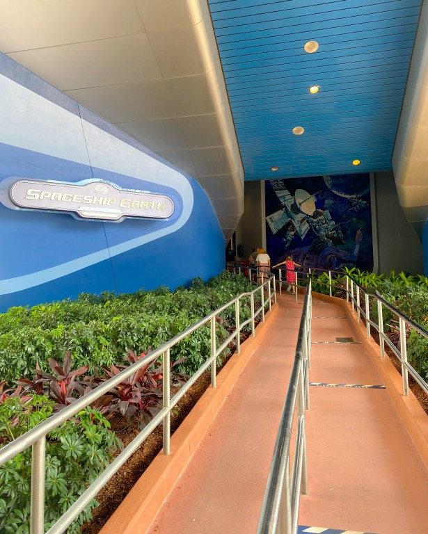 Taste of Epcot Food and Wine Festival guide Spaceship Earth
