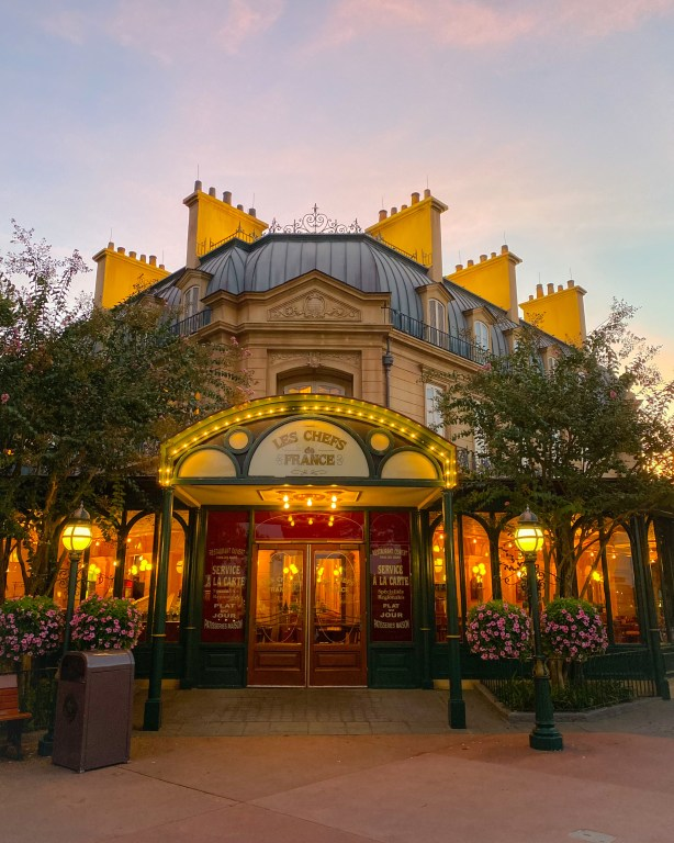 Taste of Epcot Food and Wine Festival guide and Les Chefs de France