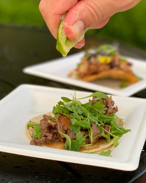 Taste of Epcot Food and Wine Festival guide Mexico tacos