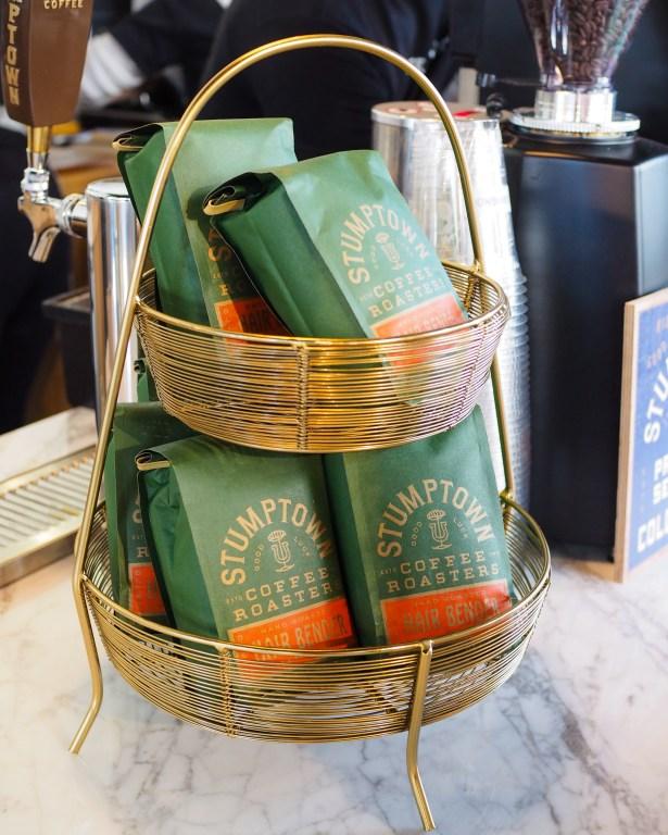 Stumptown Coffee is used to make this boozy caramel affogato recipe