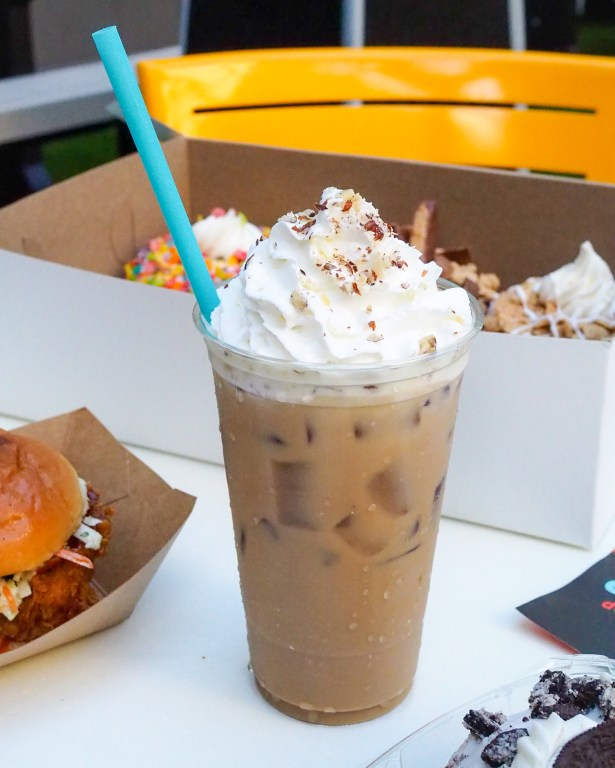 Everglazed Donuts and Cold Brew at Disney Springs full review and reasons why you'll want to add it to your list for your next Walt Disney World Visit.