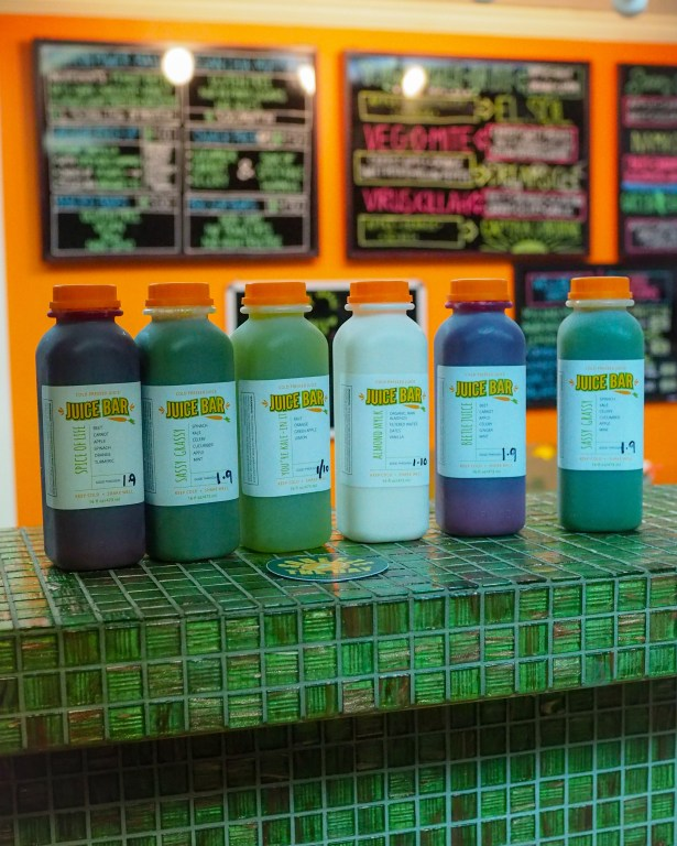 Healthy Bites, Travel and Entrepreneurial inspiration in conversation with Sue Buttery owner of Juice Bar in Orlando's Milk District