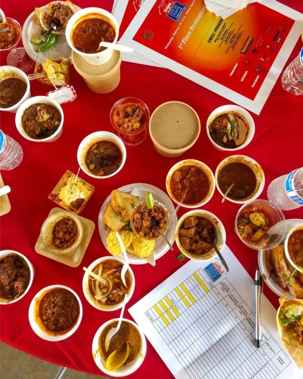 Slow Cooker Homestyle Turkey Chili Recipe and Confessions from a chili cook-off judge on tips to make award winning chili and what happens at the judges table.