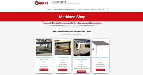 Markisen Shop
