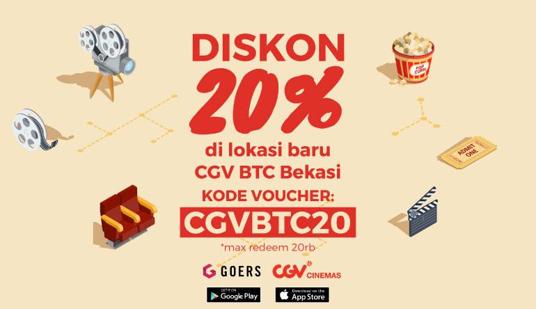 Yuk, Cobain CGV Cinema Baru di BTC Mall Pakai Voucher Code CGVBTC20