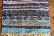 colorful rag welcome rug