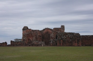Touring Jesuit Mission Ruins in Trinidad, Paraguay