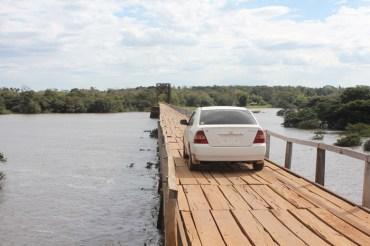 Walk to the bridge, Yuty Paraguay