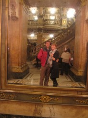 Allison and Isaiah in Theater Municipal in Rio de Janeiro