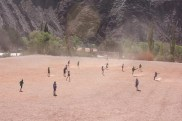 Dust Soccer in Purmamarca, Argentina