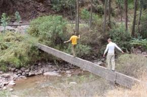 Isaiah, Marvin in Ollantaytambo, Peru in Sacred Valley