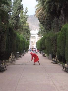 Cemetery in Sucre, Bolivia