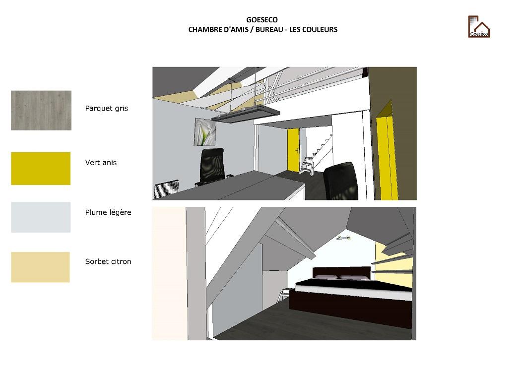 Amenagement Chambre Damis Bureau Dcoration Soussol Et Free Coloring ...