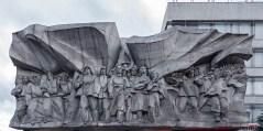 "Hochrelief ""Solidarität""; Minsk, Juni 2016"