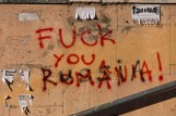 Graffiti Fuck you Romania | Fuck you Russia