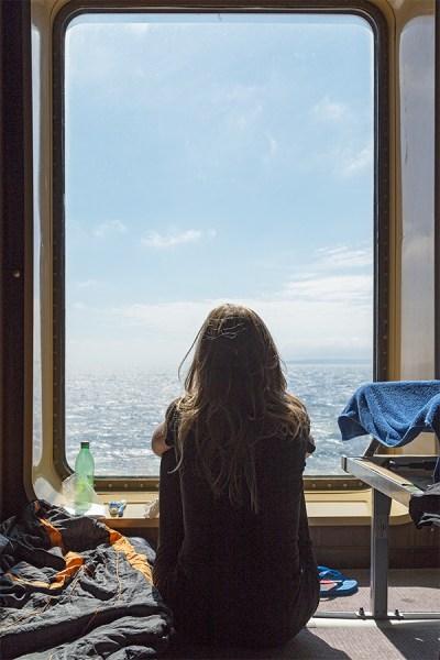 Zimmer mit Ausblick aufs Meer