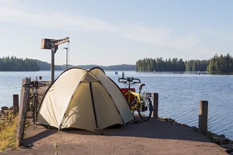 Camping in Karelien