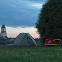 Mitternachtssonne über Vyborg