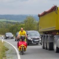 Mit dem Lastenrad auf Tour durch den Frankenwald