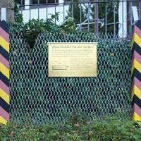 Denkmal für die Grenzöffnung 1989 in Herleshausen