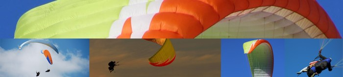 Parapente-collage