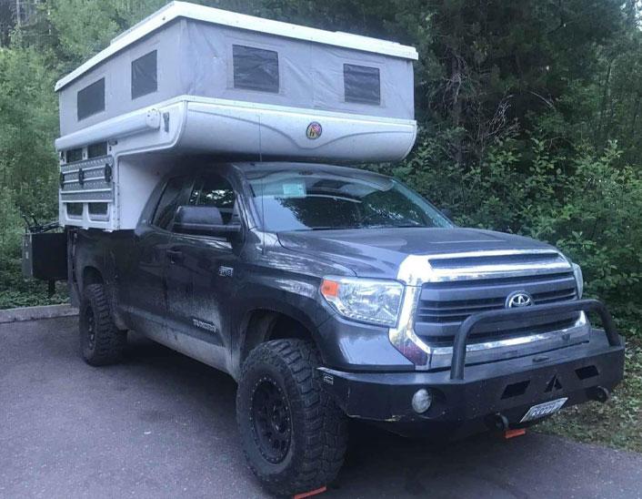 Toyota Tundra Hallmark Camper (!! FOR SALE !!)