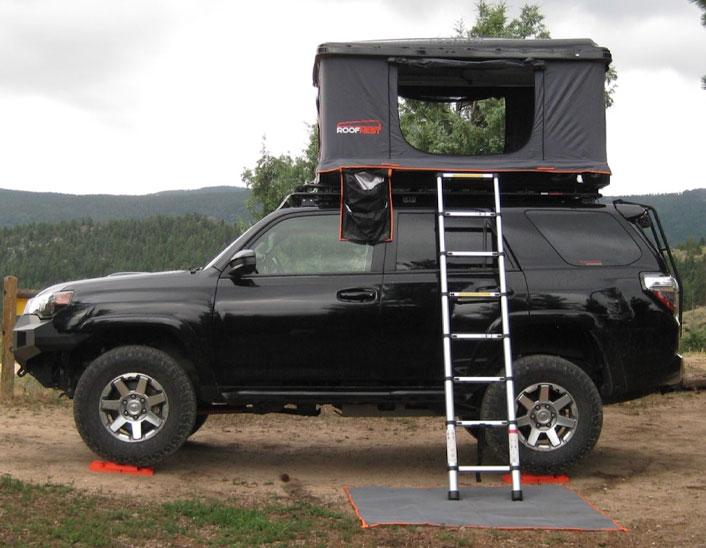 Supercharged Toyota 4Runner Roofnest RTT
